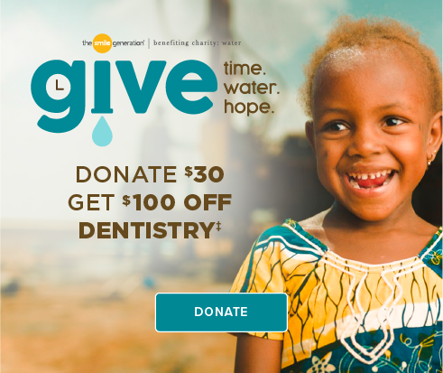 Donate $30, Get $100 Off Dentistry - Mountain Dental Group